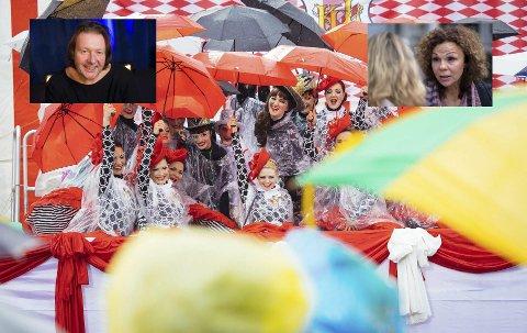 GIRLPOWER: Den elleville damefesten i Porsgrunn for to uker siden hadde skyhøy kjendisfaktor og enda høyere smitterisiko. Foto: Anonym (husker ikke)
