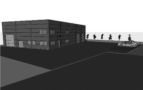 Byggesøknad: Søker ønsker å sette opp et lagerbygg med kontor i Sagveien 25. Ved å plassere bygget 2 meter over byggegrensen vil det skape mer plass foran bygget til transport og manøvrering.