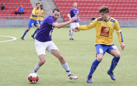 FORSTÅR IKKE: Johan Carnicero Pedersen og Silkefot sliter hvert år med å skaffe nok spillere til sin A-lagssatsing i bunndivisjonen.Foto: Gøran O. Pedersen