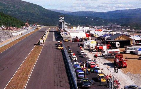 Øvingsarena? De 25 årene Arctic Circle Raceway har eksistert, har det flere ganger vært snakk om å utnytte potensialet til mer enn rein motorsport. Nå kan det åpne seg en sjanse. Foto: Rami Abood  Mappe nr. 11923 Negativ nr. 12
