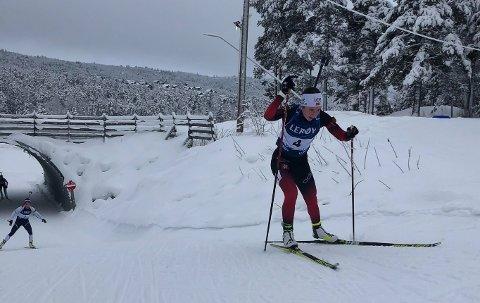 IBU: Marthe Kråkstad Johansen skal til Tyskland og Arber i januar. Her fra Lerøy cup-rennet på Geilo hvor hun ble nummer seks.