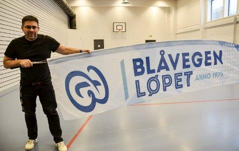 Rennleder Roy Millerjord og Stålkameratene starter påmeldingen til årets Blåvegenløp fredag den 12. mars.