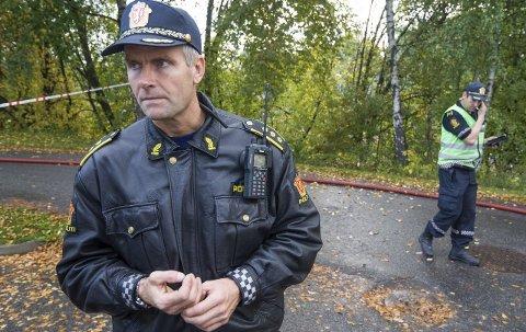 Narkobeslag: Lensmann Terje Krogstads mannskaper stod for narkobeslaget i Nordre Ringsaker. foto: Arkiv