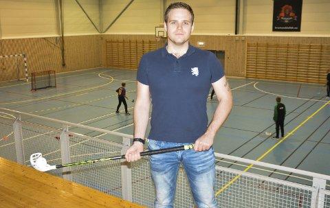 SER POTENSIAL: Espen Schytte er nyansatt som daglig leder i Brumunddal IBK og tror klubben kan vokse seg så store de ønsker.