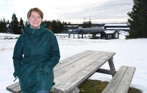 Ny til fjells: Hilde Ødeli fra Brøttum er ansatt som kontorleder i Ringsakfjellet drift AS.