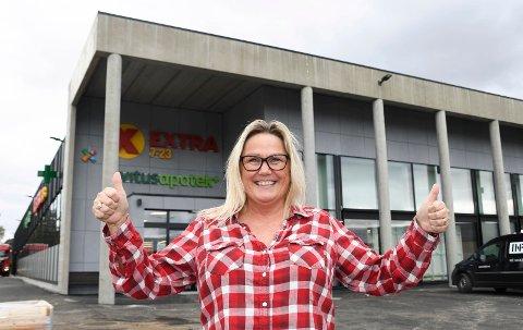 Jubler for ny jobb: Anne Grethe Tømmerholen fra Brumundda.