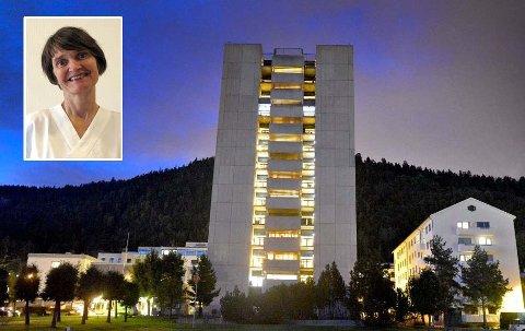 OVERLEGE: Mette Walberg er smittevernoverlege ved Vestre Viken HF.