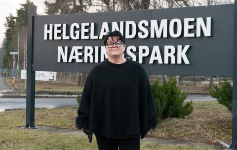 MULIGHETER: Anita Haugland Gomnæs (Sp) ser mange muligheter for at en ny ungdomsskole kan samarbeide med næringslivet på Helgelandsmoen.