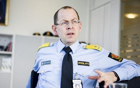 Utfordringer: Fungerende politileder på Romerike, Bjørn Vandvik, har dekket mye av Lime-etterforskningen innenfor politidistriktets eget budsjett. Foto: Tom Gustavsen