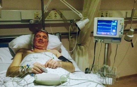 Etter tre ryggoperasjonervar Ragnar Myrasengeliggende. I tre år var det inn og ut av sykehusene.