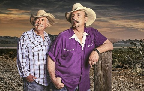 PÅ NORGESTURNÉ: Bellamy Brothers fikk sitt verdensgjennombrudd med «Let Your Love Flow» i 1976. De amerikanske brødrene har fremdeles en trofast fanskare, og 25. september spiller de i Sandefjord. PRESSEFOTO