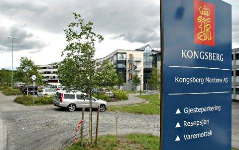 KUTTER IGJEN: Kongsberg Maritime skal kutte 120 stillinger. Dette er den tredje kuttrunden selskapet er gjennom siden inngangen til 2015.