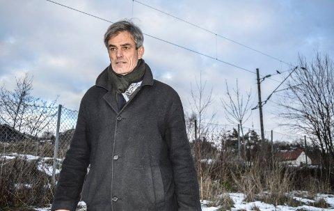 VIL KJEMPE: Ordfører Bjørn Ole Gleditsch vil kjempe for at dobbeltsporet gjennom Sandefjord kommune ikke utsettes.