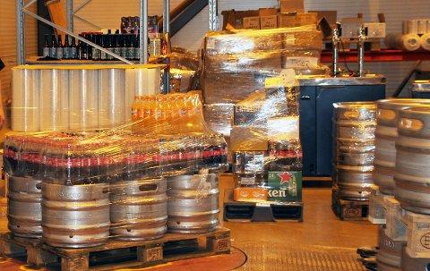 MOT STREIK: Det er fare for streik hos bryggeri og mineralvannfabrikker.
