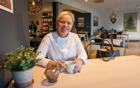 AVTROPPENDE: Sandefjord KFU-leder Anette Hvidtsten håper flere vil samarbeide med dem i tiden fremover.