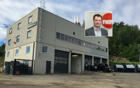 NYE MULIGHETER: Her, i dette bygget i Bekkeveien 8, blir Mulighetshuset å finne. Det er Nav-sjef Ole Petter Gravningen (innfelt) glad for.