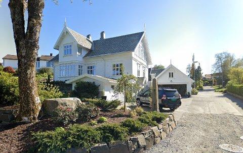 Denne boligen gikk for 9,3 mill. Skjermdump GoogleMaps