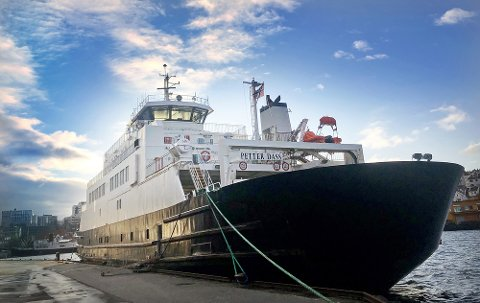 Høgsfjordferja er innstilt.