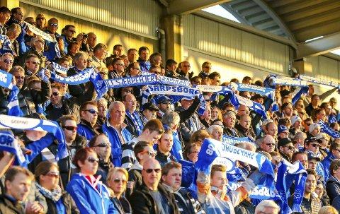 BLIR KALDT: Søndag møtes 08 og Rosenborg på Sarpsborg stadion. Det kan bli en kald affære for tilskuerne med nedbør og rundt null grader.