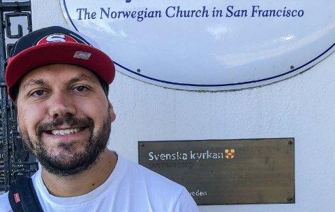 Morgan Berg fra Sarpsborg er nyansatt som daglig leder og sjømannsprest i Sjømannskirken i San Francisco, USA.