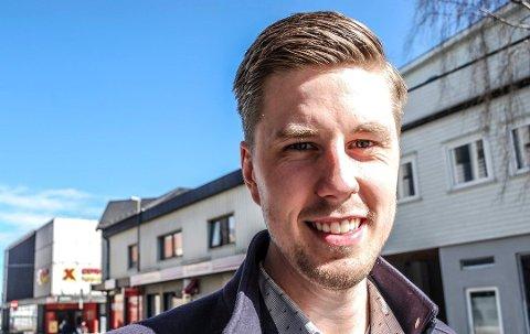 Leder i Østfold eiendomsmeglerforbund, Thor-Martin Frøyland, forteller at visningstiltakene skal gi kunder en trygg visning. Arkivfoto: Stina Mikalsen