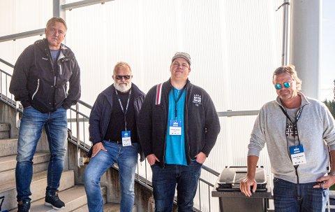 SA-PODDEN: Petter Kalnes, Øistein Veberg, Patrick Walther Larsen og Bjørn Inge «Bingen» Nilsen.