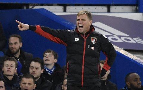 Bournemouth og manager Eddie Howe har spilt tre ganger mot Arsenal tidligere i Premier League, og de har tapt hver gang.