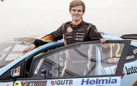 PLUKKET UT: Thomas Bryntesson skal lørdag kjøre Race of Champions på mektige Friends Arena i Stockholm. Der møter han noen av de største motorsportsstjernene i Skandinavia. ARKIVFOTO