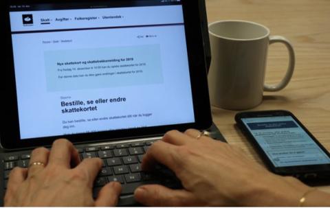 – Sjekk om opplysningene om deg stemmer på skatteetaten.no, oppfordrer skattedirektør Hans Christian Holte.