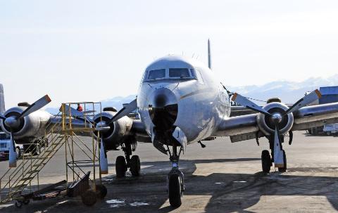 Dette flyet var en gang en Braathens-maskin, men har siden vært eid av Everts Air Cargo i Alaska. Nå kan det se ut som sagaen om flyet endelig er over.