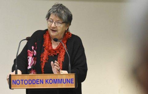 Barnetrygd: Notodden SVs Else Solberg Aasen vil at barnefamilier med sosialstøtte skal beholde barnetrygden sin. – Jeg har alltid trodd at barnetrygden skal gå til barna, sier hun.