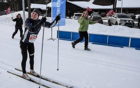 VANT: Kristin Antonsen ble raskeste kvinne også i årets gaustaløp. Ingen kunne true gransheringen - som for bare drøye fire måneder siden ble mor.