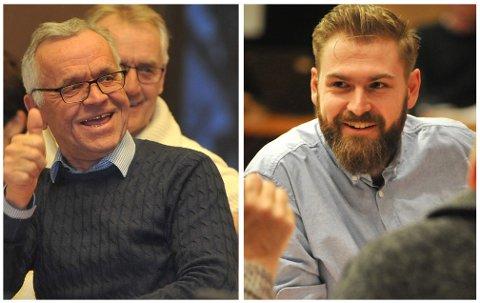 HVEM BLIR ORDFØRER? Det er fortsatt ikke avklart om Arild Ødegard (Sp) eller Stian Olafsen (Ap) blir ordfører i Vestre Toten kommune.