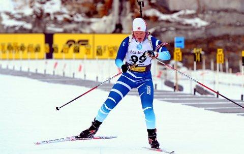 Sesongstart: Maren Wangensteen går sesongstarten i skiskyting på Sjusjøen ved Lillehammer både lørdag og søndag.