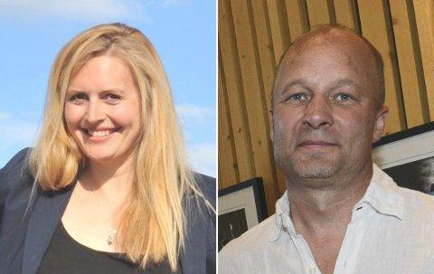 FRATRER:Åshild Stordrange (KrF) og Bjørn Nyheim (MDG) søker om fritak fra politiske verv ut resten av perioden.