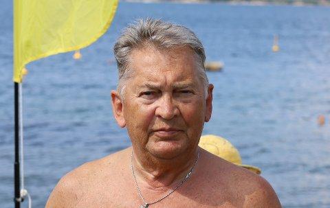 FIKK TIDLIG RESPEKT: Bjørn Ask (74) forteller at han før han hadde fylt åtte år hadde vært nær å drukne to ganger. Det skulle heller ikke bli hans siste «nær døden»-opplevelse i vannet.