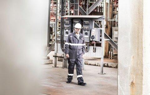 FØRSTE I SKANDINAVIA: IECEx personellsertifisering er et skritt fremover for sikkerhet i Ex-områder, ifølge Geir Larsen (bildet) og Trainor.