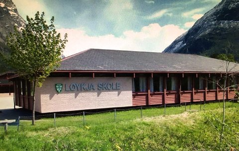Utover kommende uke blir det økende aktivitet ved Løykja og de andre skolene i Sunndal. (Arkiv)