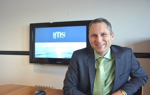 FORNØYD: Konsernsjef hos IMS Group AS, Roy Langseth.