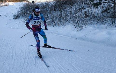 SEIERSHERRE: Kristian Aasbø fra Gjerstad gikk inn til seier på normaldistansen i Sparebank 1 Cup på Simostranda.