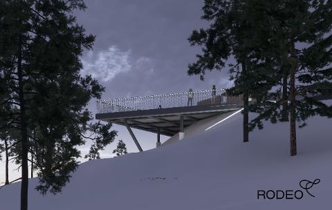 Innen høsten 2022 skal Oslos beboere kunne skue utover byen fra denne plattformen.
