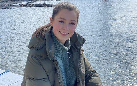 HOVEDROLLE: Andrea Berntzen fra Oslo spiller hovedrollen i storsatsningen «Bortført».