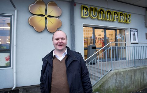 Thomas Sandland har solgt alle aksjene i Bunnpris Vest til Lykke-familien i Trondheim. FOTO: ARNE RISTESUND