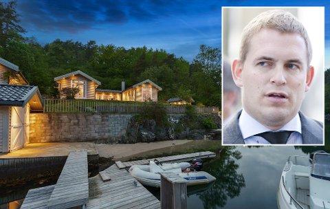 Mangemilliardær Frederik Wilhelm Mohn sin nye fritidsbolig.