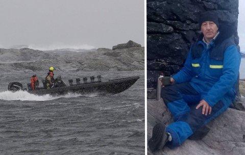 Båter, kystvaktfartøy, helikopter og fly ble satt inn i søket etter Jarle Dale. Torsdag ble aksjonen avsluttet uten funn.