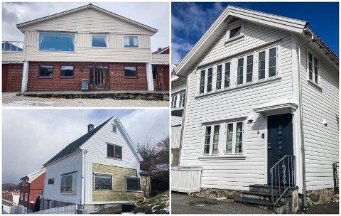 SOLGT: Lundeveien 9, Skriveralmenningen 6 og Fabrikkplassen 2 var blant boligene som ble solgt i løpet av mars.