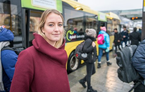 GJENVALG. Sandra Bruflot stiller til gjenvalg som Unge Høyre-leder i juni.