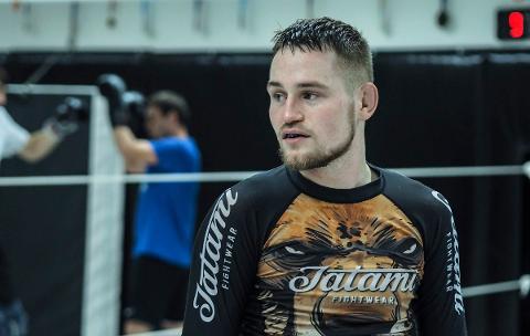 AMBISIØS: Ole-Jørgen Mandt Johnsen har som mål å bli verdens beste MMA-utøver. Lørdag vant han igjen.