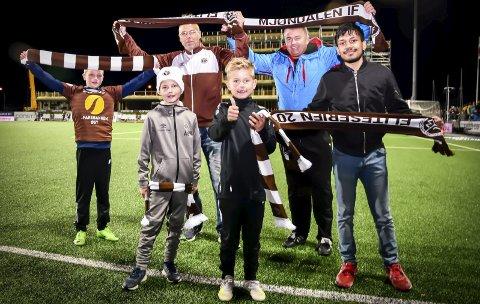 STRAFFESKYTTERNE: Fra venstre: Vebjørn Ruud-Kleven (9), Ådne Braathen (8), Rune Elvekrok (42), Max Fagerhøi (7), Finn-Rune Karlsen (57) og Muhamad Umair (22).