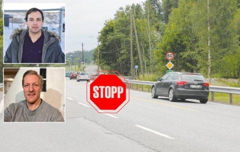 FIKK GJENNOMSLAG: Kim Mogen Myhre og Sigurd Skarra fra Senterpartiet fikk gjennomslag for en rekke ideer i kommunestyret.